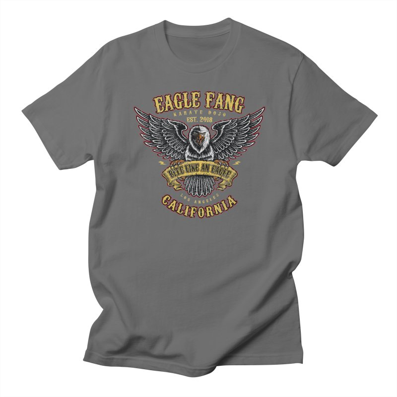 Eagle Fang Club Patch v2 Men's T-Shirt by Olipop Art & Design Shop