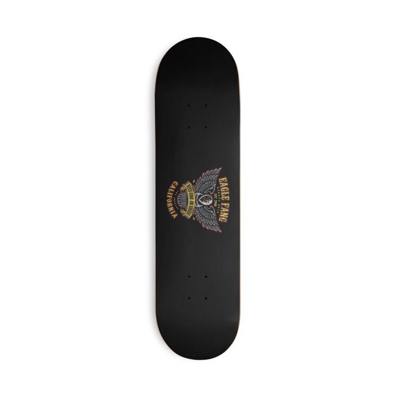 Eagle Fang Club Patch v2 Accessories Skateboard by Olipop Art & Design Shop
