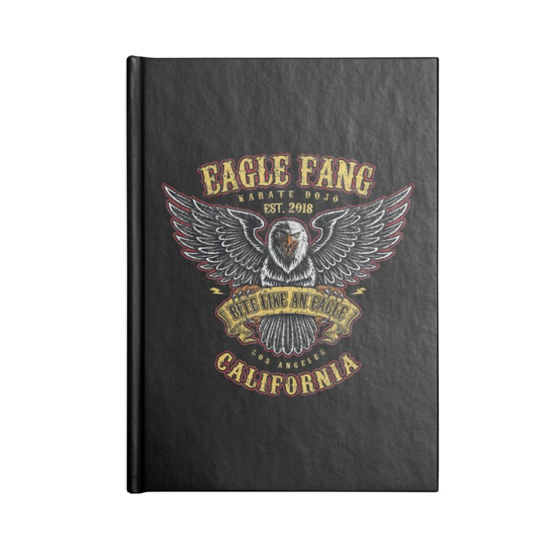 Eagle Fang Club Patch v2 Accessories Notebook by Olipop Art & Design Shop
