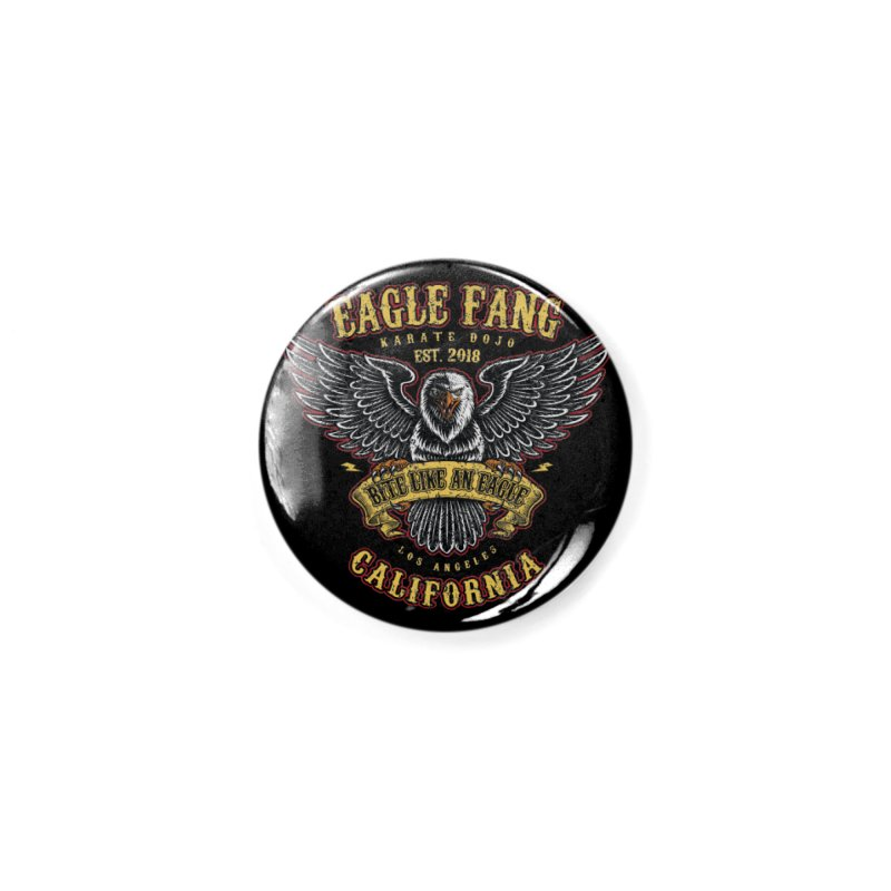 Eagle Fang Club Patch v2 Accessories Button by Olipop Art & Design Shop