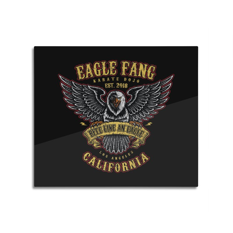 Eagle Fang Club Patch v2 Home Mounted Acrylic Print by Olipop Art & Design Shop
