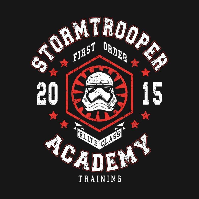 Stormtrooper Academy 15 None  by Olipop Art & Design Shop