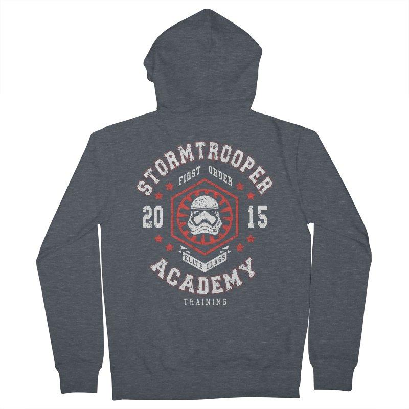 Stormtrooper Academy 15 Women's Zip-Up Hoody by Olipop Art & Design Shop