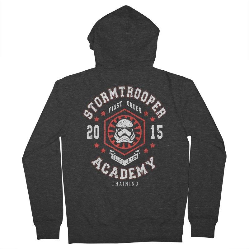 Stormtrooper Academy 15 Men's Zip-Up Hoody by Olipop Art & Design Shop