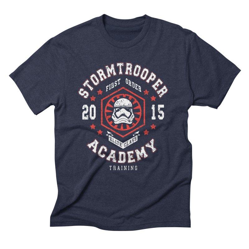 Stormtrooper Academy 15 Men's Triblend T-Shirt by Olipop Art & Design Shop