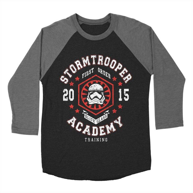 Stormtrooper Academy 15 Men's Baseball Triblend T-Shirt by Olipop Art & Design Shop