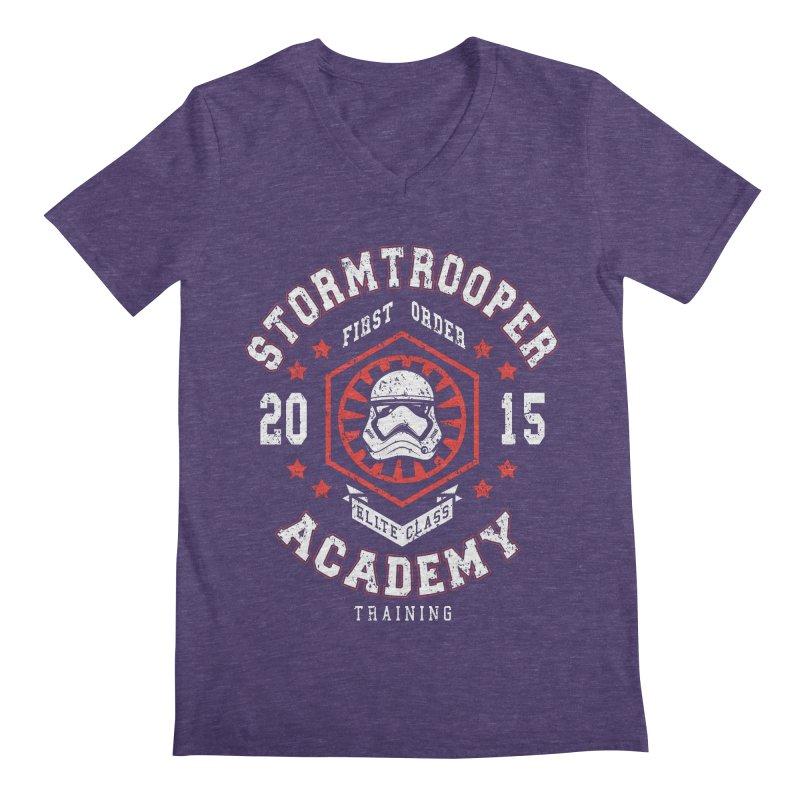 Stormtrooper Academy 15 Men's V-Neck by Olipop Art & Design Shop