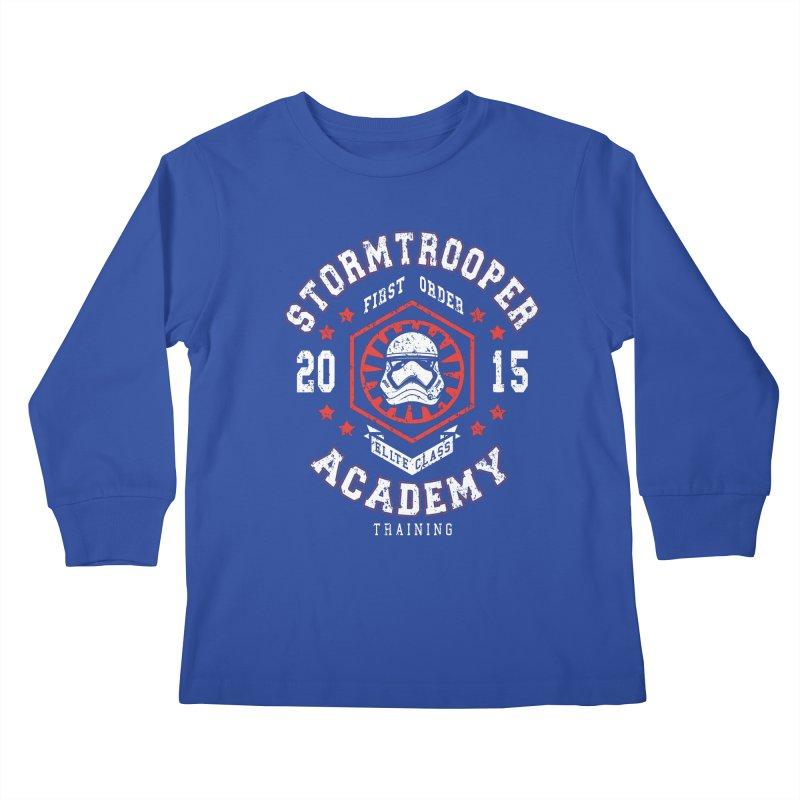 Stormtrooper Academy 15 Kids Longsleeve T-Shirt by Olipop Art & Design Shop