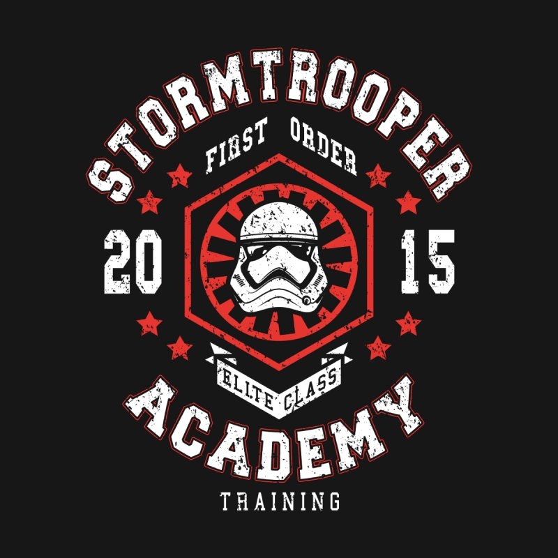 Stormtrooper Academy 15 Women's Baseball Triblend T-Shirt by Olipop Art & Design Shop