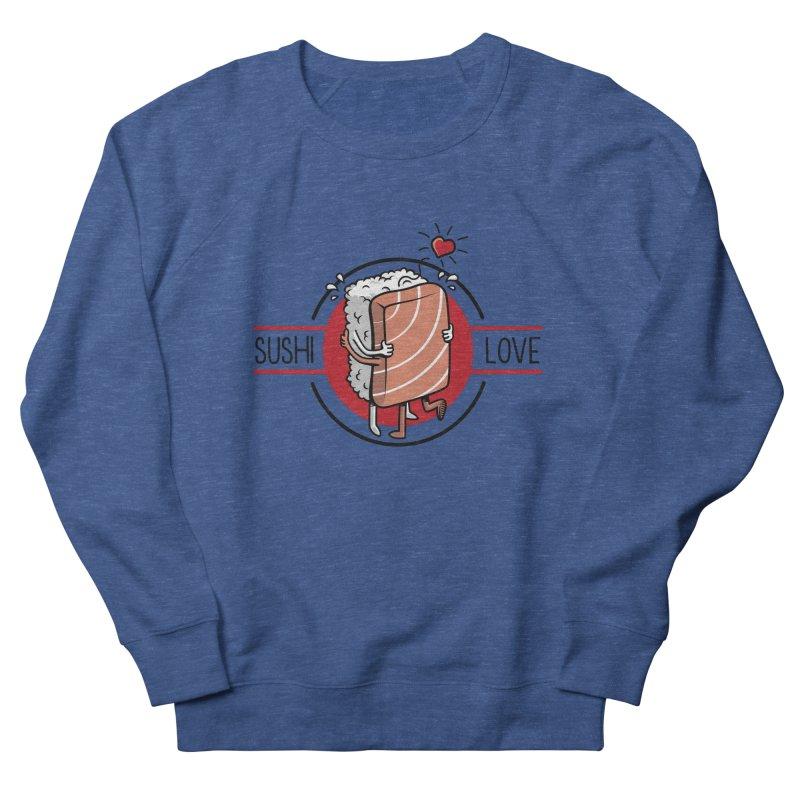 Sushi Love Men's Sweatshirt by Olipop Art & Design Shop