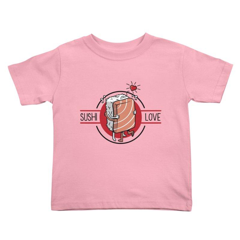 Sushi Love Kids Toddler T-Shirt by Olipop Art & Design Shop