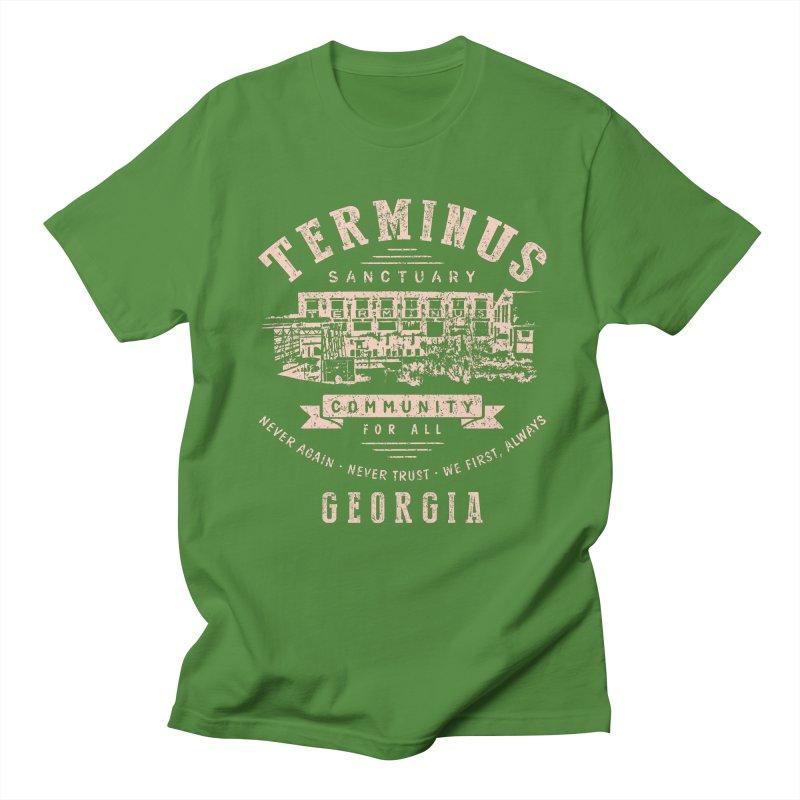 Terminus Sanctuary Community Men's T-Shirt by Olipop Art & Design Shop