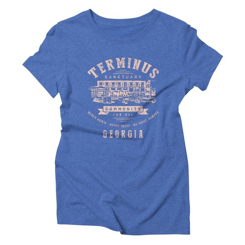 Terminus Sanctuary Community Women's Triblend T-Shirt by Olipop Art & Design Shop