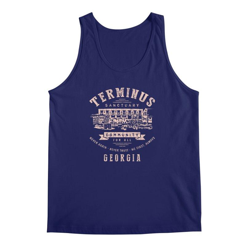 Terminus Sanctuary Community Men's Tank by Olipop Art & Design Shop