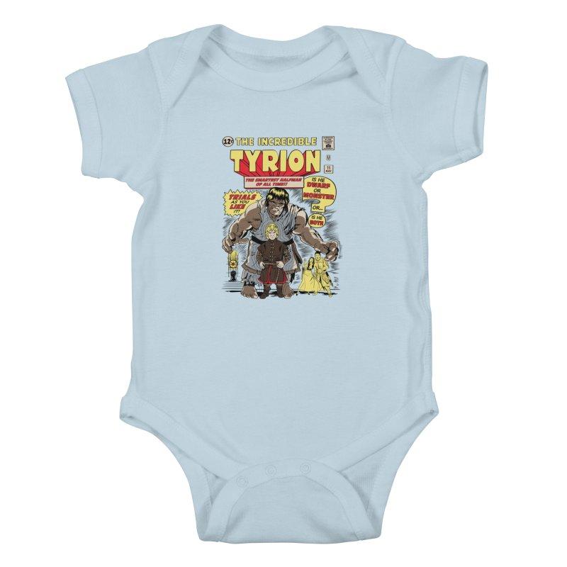 The Incredible Imp Kids Baby Bodysuit by Olipop Art & Design Shop