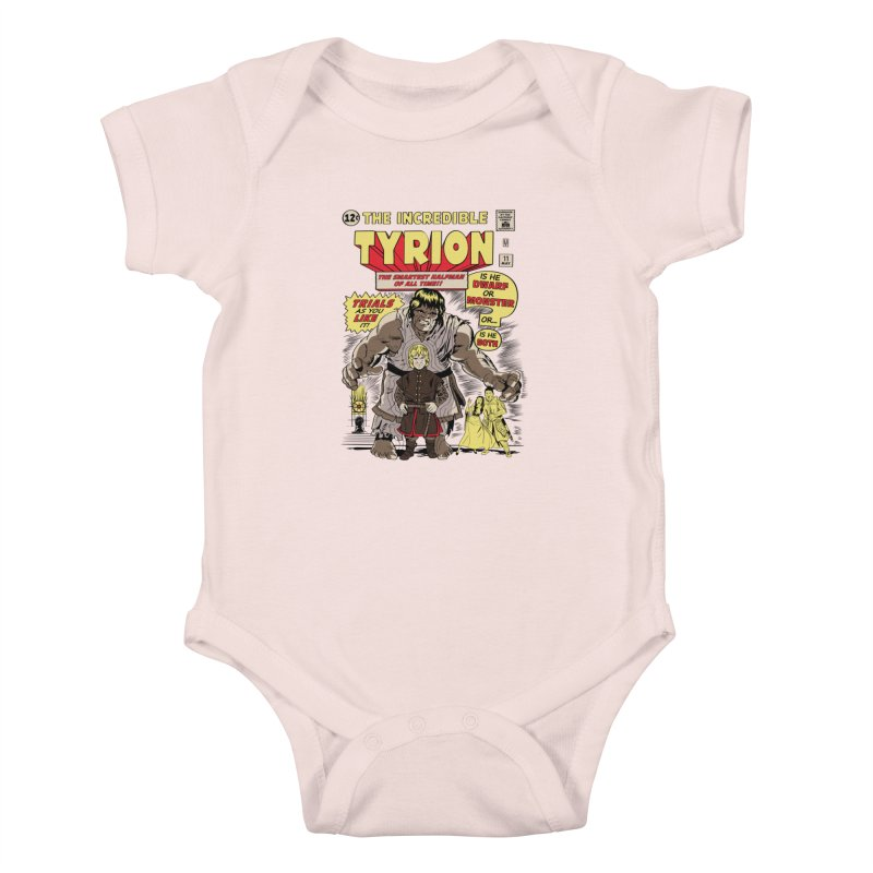 The Incredible Imp Kids Baby Bodysuit by Olipop Art & Design Shop