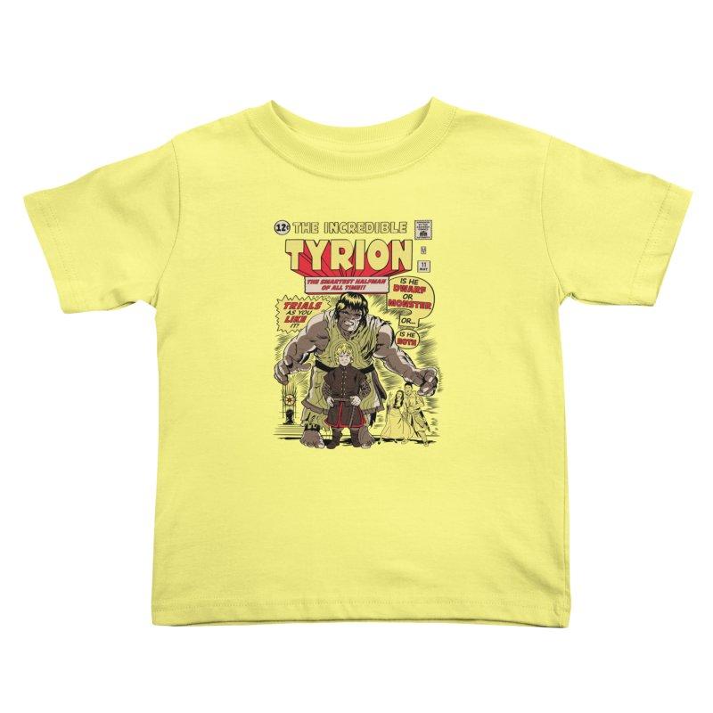The Incredible Imp Kids Toddler T-Shirt by Olipop Art & Design Shop