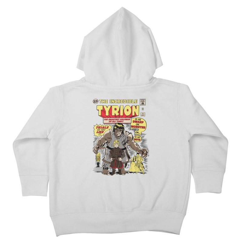 The Incredible Imp Kids Toddler Zip-Up Hoody by Olipop Art & Design Shop