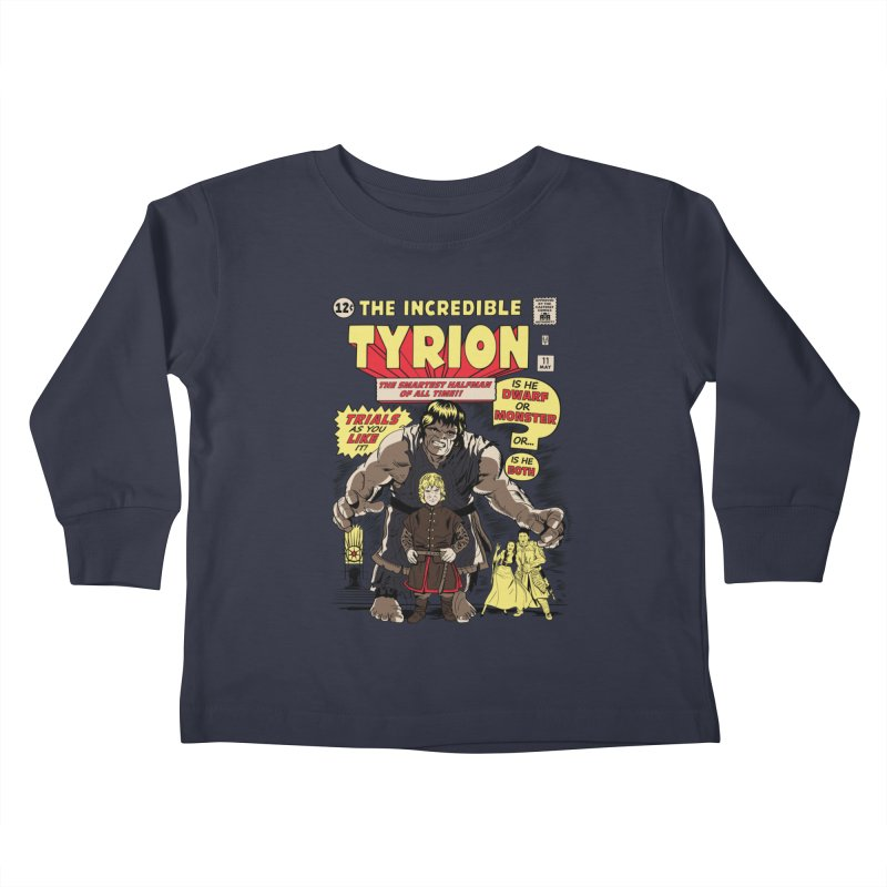 The Incredible Imp Kids Toddler Longsleeve T-Shirt by Olipop Art & Design Shop