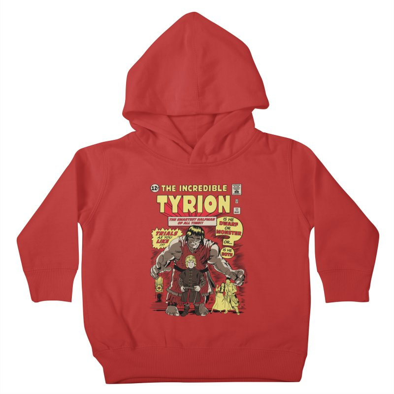 The Incredible Imp Kids Toddler Pullover Hoody by Olipop Art & Design Shop