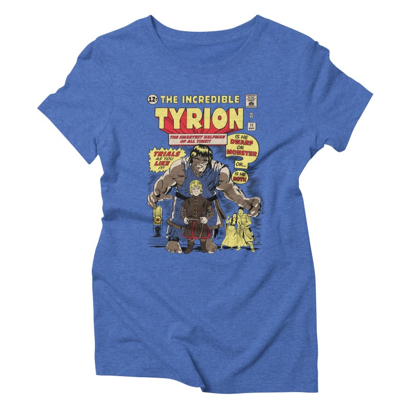 The Incredible Imp Women's Triblend T-Shirt by Olipop Art & Design Shop