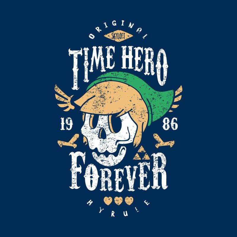 Time Hero Forever by Olipop Art & Design Shop
