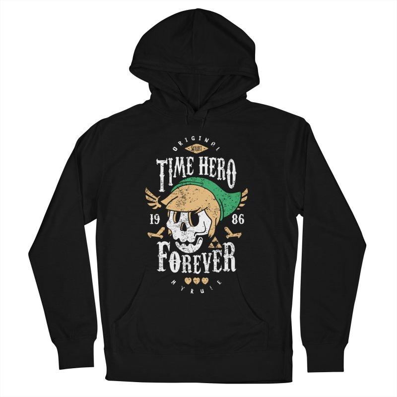 Time Hero Forever Women's Pullover Hoody by Olipop Art & Design Shop