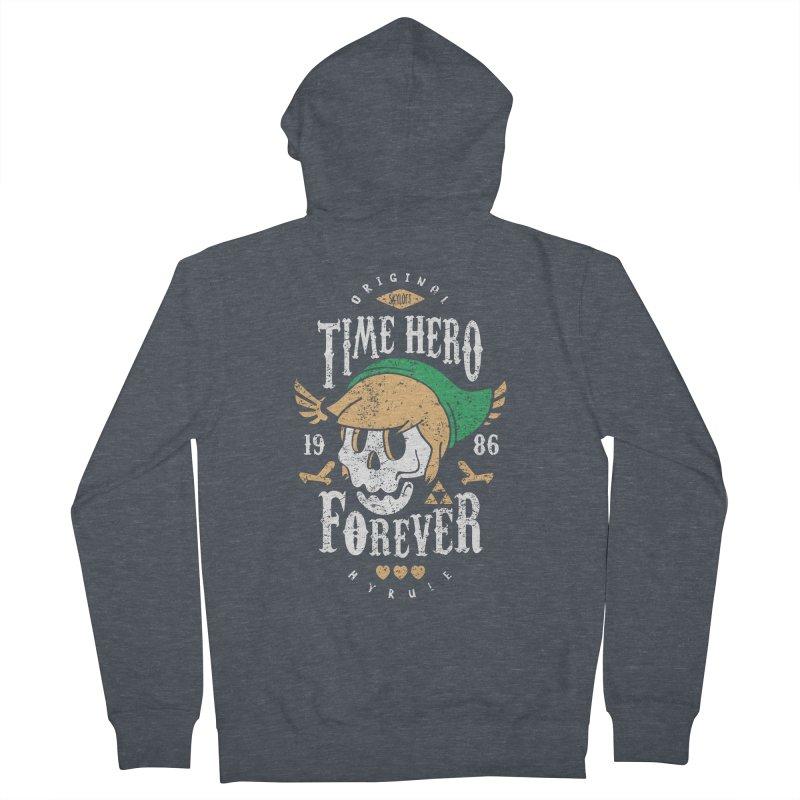 Time Hero Forever Women's Zip-Up Hoody by Olipop Art & Design Shop