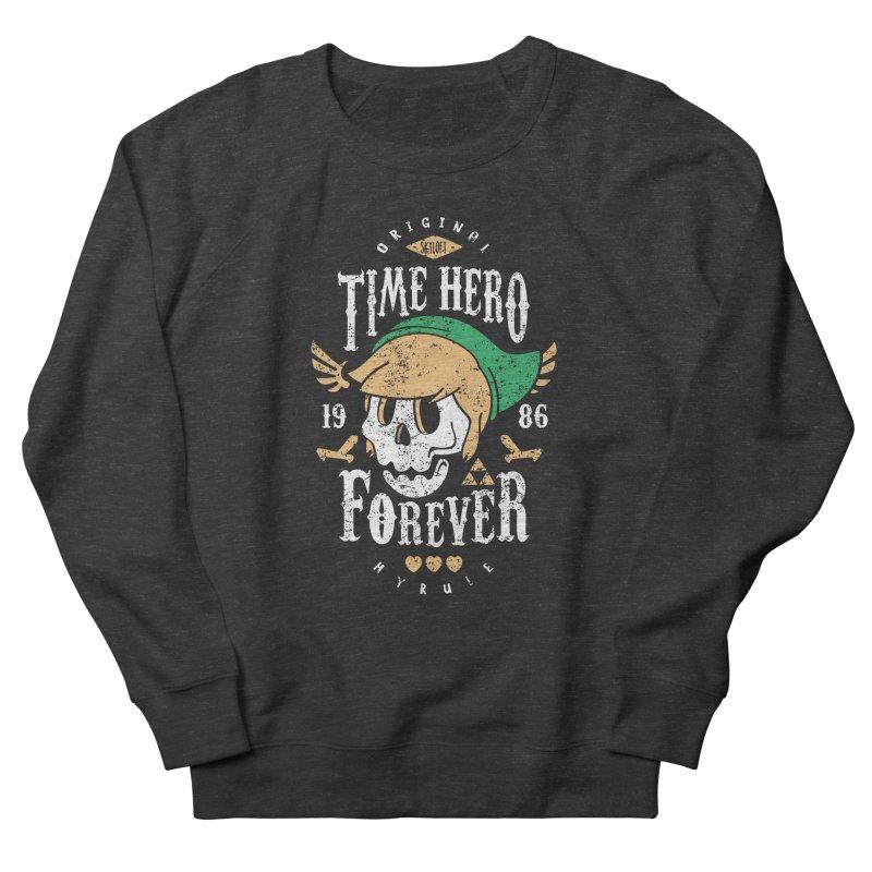 Time Hero Forever Men's Sweatshirt by Olipop Art & Design Shop