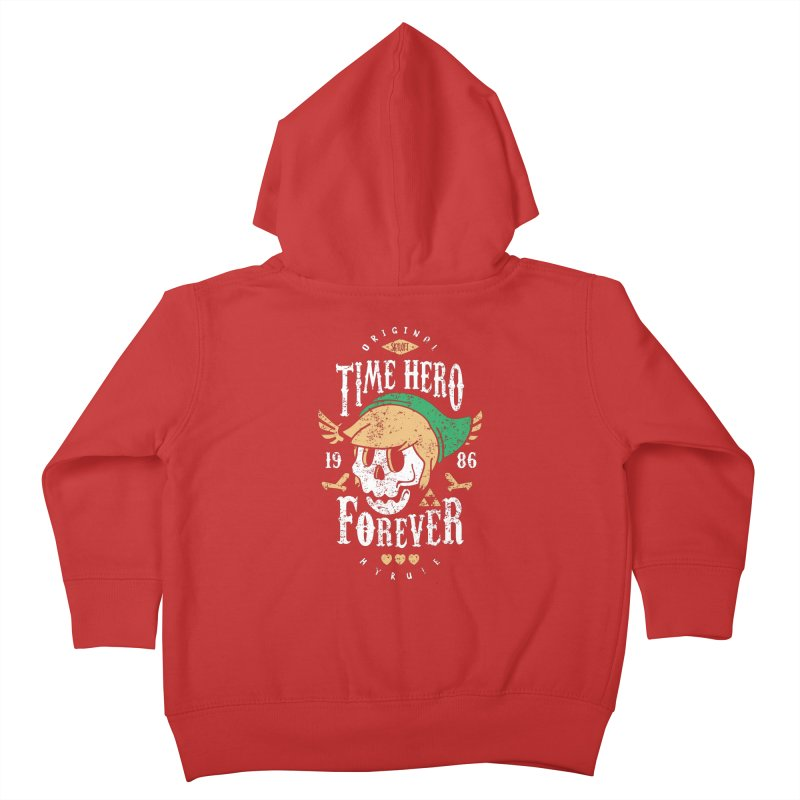 Time Hero Forever Kids Toddler Zip-Up Hoody by Olipop Art & Design Shop