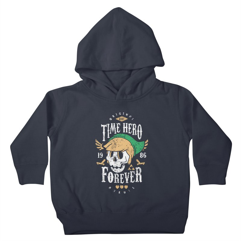 Time Hero Forever Kids Toddler Pullover Hoody by Olipop Art & Design Shop