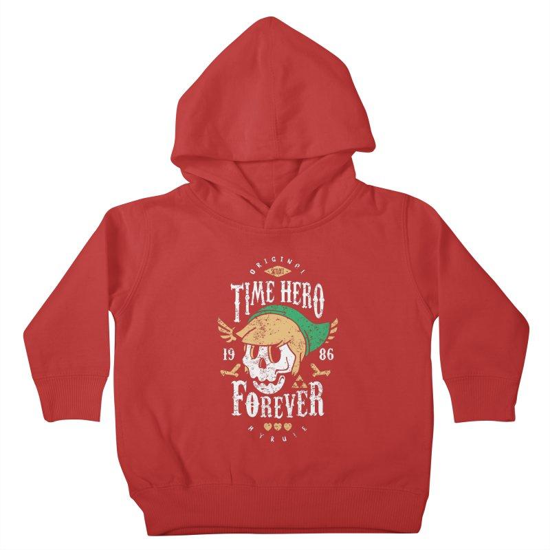 Time Hero Forever Kids Toddler Pullover Hoody by Olipop Art & Design Shop