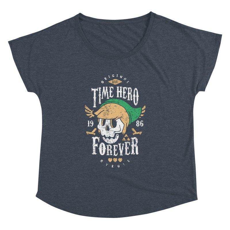 Time Hero Forever Women's Dolman by Olipop Art & Design Shop