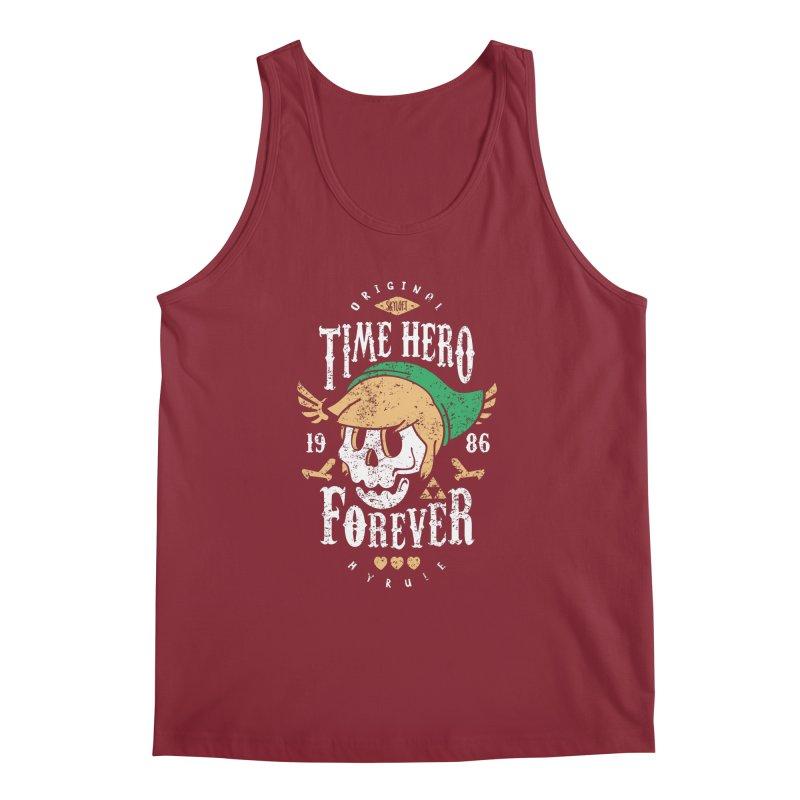 Time Hero Forever Men's Tank by Olipop Art & Design Shop