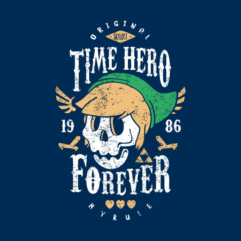 Time Hero Forever by Olipop Art & Design Shop