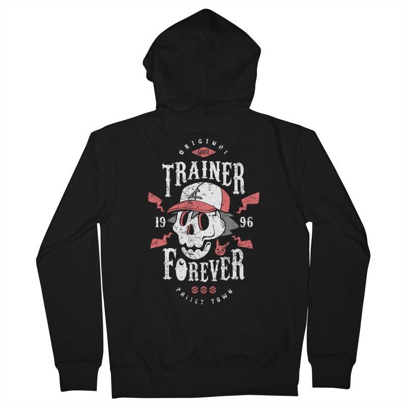 Trainer Forever Men's Zip-Up Hoody by Olipop Art & Design Shop