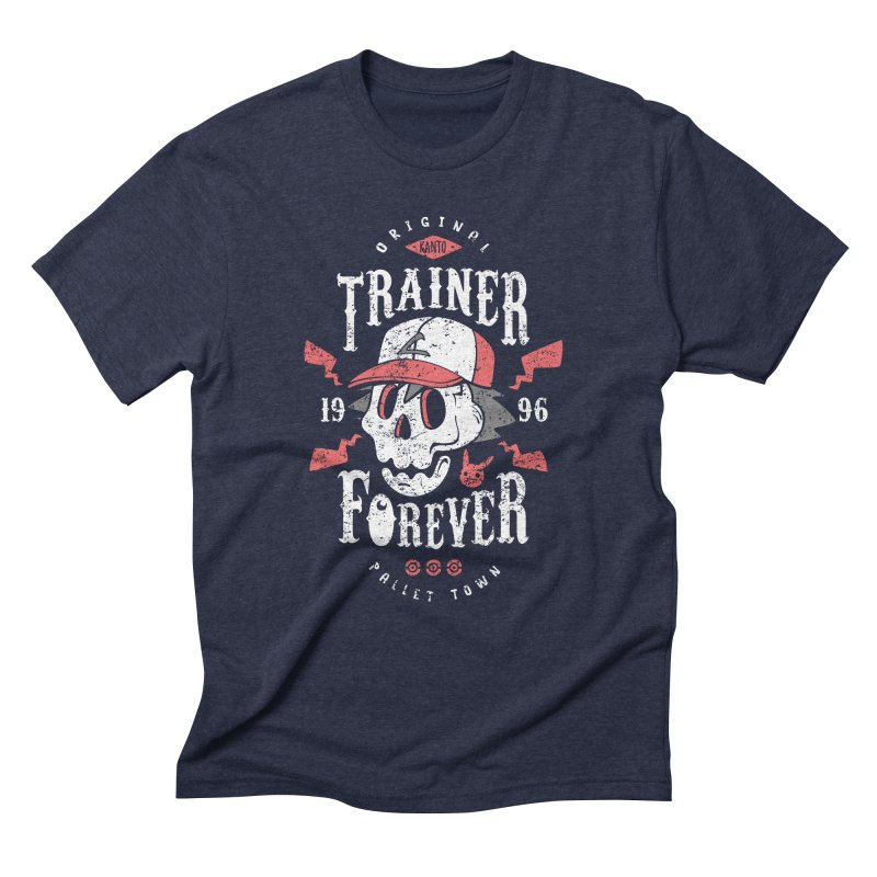 Trainer Forever Men's Triblend T-Shirt by Olipop Art & Design Shop