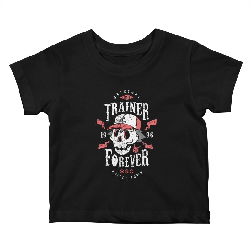 Trainer Forever Kids Baby T-Shirt by Olipop Art & Design Shop