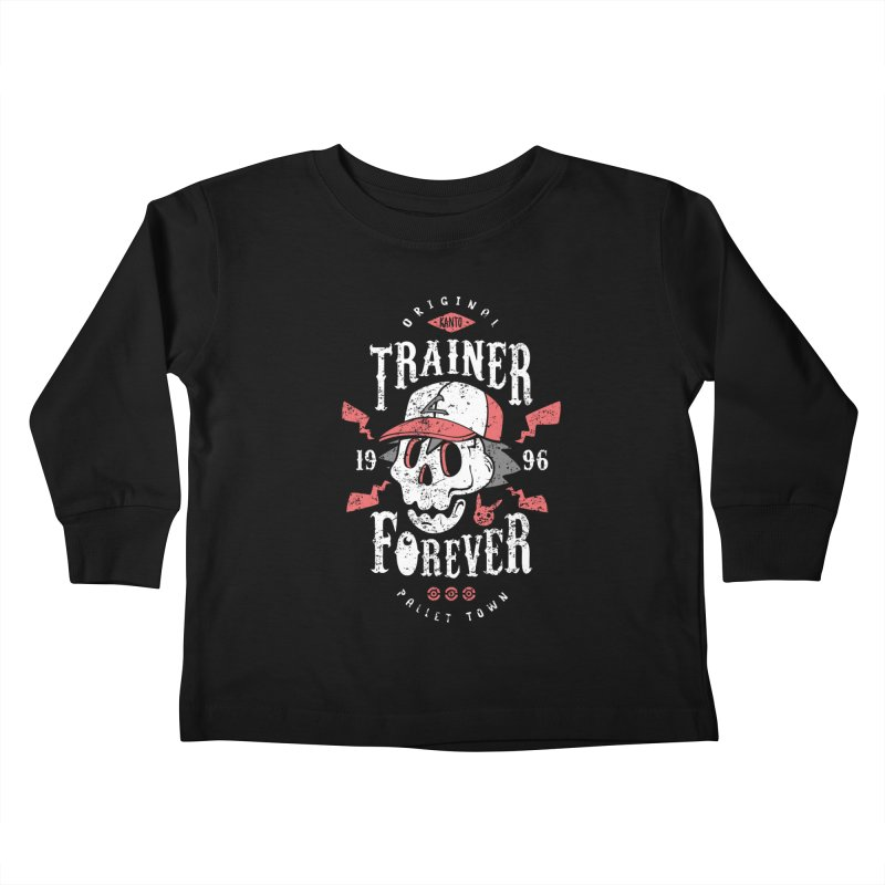 Trainer Forever Kids Toddler Longsleeve T-Shirt by Olipop Art & Design Shop