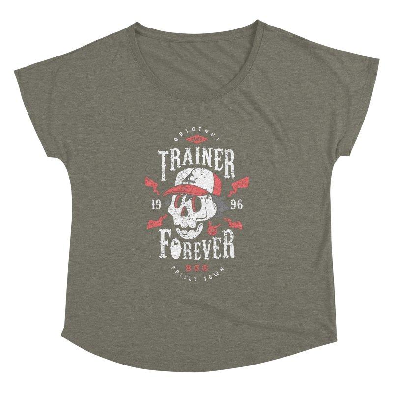 Trainer Forever Women's Dolman by Olipop Art & Design Shop