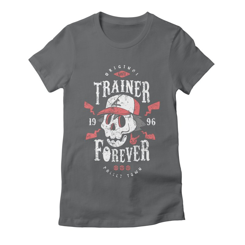 Trainer Forever Women's Fitted T-Shirt by Olipop Art & Design Shop
