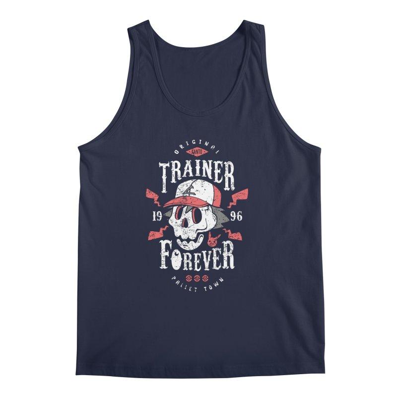 Trainer Forever Men's Tank by Olipop Art & Design Shop