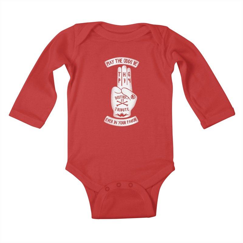 Tribute Hand Kids Baby Longsleeve Bodysuit by Olipop Art & Design Shop