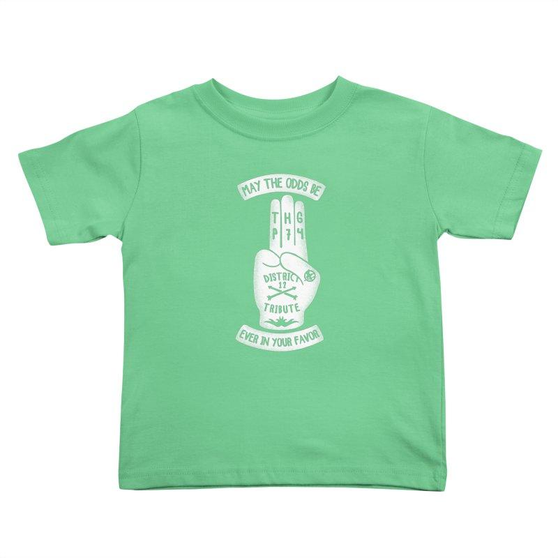 Tribute Hand Kids Toddler T-Shirt by Olipop Art & Design Shop