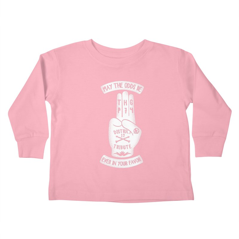 Tribute Hand Kids Toddler Longsleeve T-Shirt by Olipop Art & Design Shop