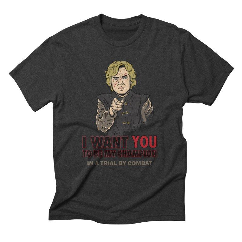 Uncle Imp Men's Triblend T-Shirt by Olipop Art & Design Shop