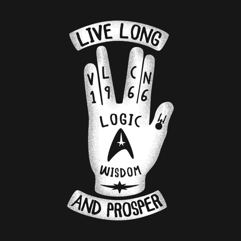 Vulcan Hand None  by Olipop Art & Design Shop