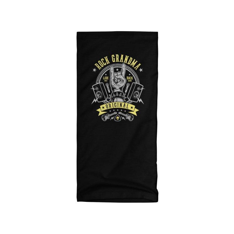 Rock Grandma Accessories Neck Gaiter by Olipop Art & Design Shop