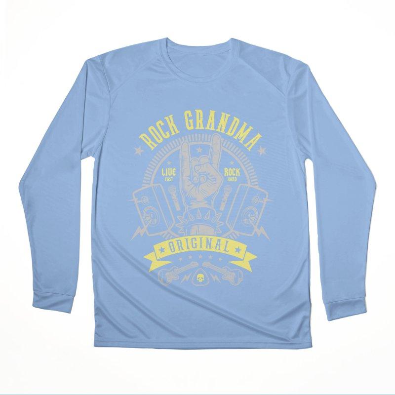 Rock Grandma Women's Longsleeve T-Shirt by Olipop Art & Design Shop