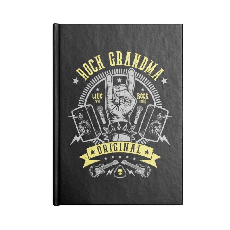 Rock Grandma Accessories Notebook by Olipop Art & Design Shop
